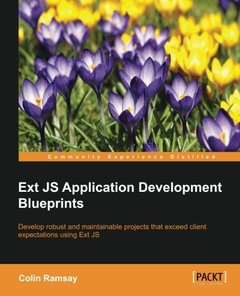 Ext JS Application Development Blueprints-cover