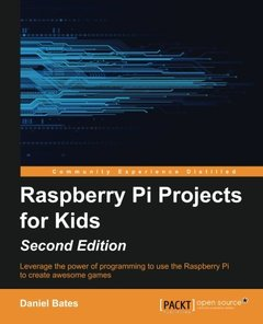 Raspberry Pi Projects for Kids,  2/e(Paperback)-cover