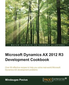 Microsoft Dynamics AX 2012 R3 Development Cookbook-cover