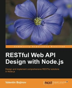 RESTful Web API Design with Node.js(Paperback)-cover