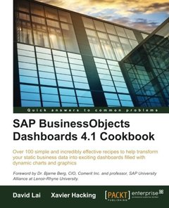 SAP BusinessObjects Dashboards 4.1 Cookbook-cover