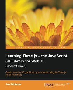 Learning Three.js: The JavaScript 3D Library for WebGL, 2/e(Paperback)-cover