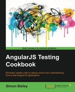 AngularJS Testing Cookbook-cover