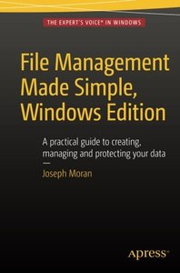 File Management Made Simple, Windows Edition (Paperback)-cover