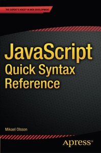 JavaScript Quick Syntax Reference (Paperback)-cover