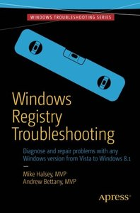 Windows Registry Troubleshooting (Paperback)-cover