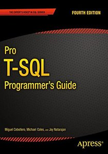 Pro T-SQL Programmer's Guide (Paperback)-cover
