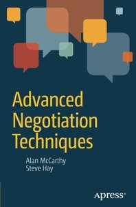 Advanced Negotiation Techniques (Paperback)-cover