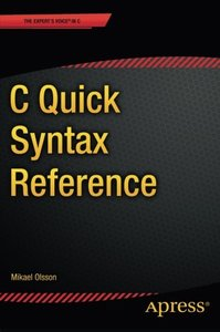 C Quick Syntax Reference (Paperback)-cover