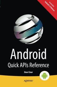 Android Quick APIs Reference (Paperback)-cover