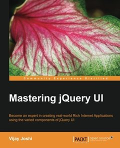 Mastering jQuery UI-cover