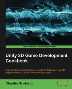 Unity 2D Game Development Cookbook-cover