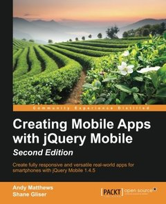Creating Mobile Apps with jQuery Mobile,  2/e(Paperback)-cover