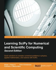 Learning SciPy for Numerical and Scientific Computing,  2/e(Paperback)-cover