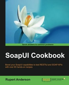 SoapUI Cookbook-cover