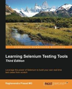 Learning Selenium Testing Tools, 3/e(Paperback)-cover