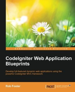 CodeIgniter Web Application Blueprints-cover