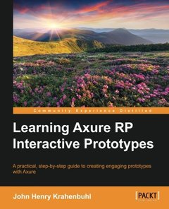 Learning Axure RP Interactive Prototypes-cover