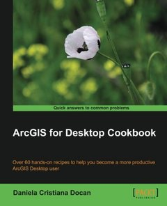 ArcGIS for Desktop Cookbook-cover