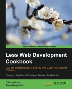Less Web Development Cookbook-cover
