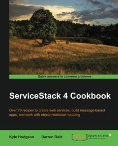 ServiceStack 4 Cookbook-cover