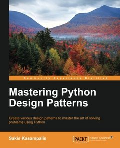 Mastering Python Design Patterns-cover