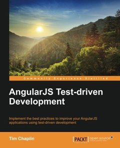 AngularJS Test-driven Development-cover