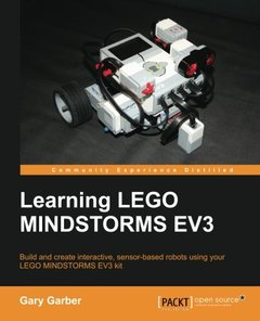 Learning LEGO Mindstorms EV3-cover