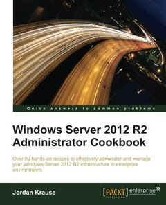 Windows Server 2012 R2 Administrator Cookbook-cover