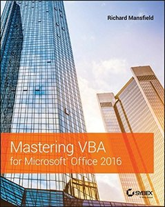 Mastering VBA for Microsoft Office 2016 (Paperback)-cover