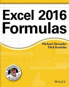 Excel 2016 Formulas (Paperback)-cover