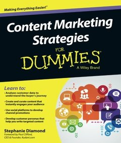 Content Marketing Strategies(Paperback)-cover