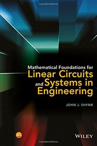 Mathematical Foundations for Linear Circuits and Systems in Engineering (Hardcover)-cover