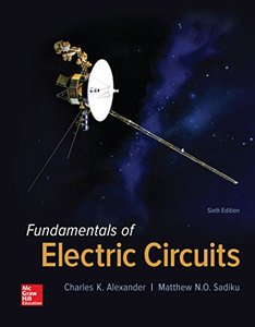 Fundamentals of Electric Circuits (Hardcover)-cover