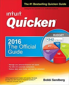 Quicken 2016 The Official Guide (Quicken : the Official Guide) (Paperback)-cover