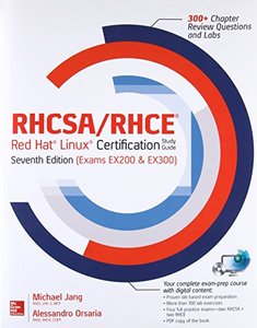 RHCSA/RHCE Red Hat Linux Certification Study Guide (Exams EX200 & EX300), 7/e (Paperback)-cover