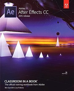 Adobe After Effects CC Classroom in a Book (2015 release) (Paperback)-cover