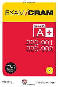 CompTIA A+ 220-901 and 220-902 Exam Cram (Paperback)-cover
