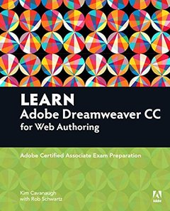 Learn Adobe Dreamweaver CC for Web Authoring: Adobe Certified Associate Exam Preparation (Paperback)-cover
