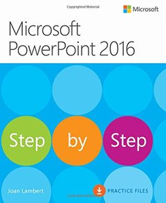 Microsoft PowerPoint 2016 Step by Step (Paperback)-cover