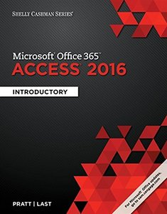 Shelly Cashman Microsoft Office 365 & Access 2016: Introductory (Paperback)-cover
