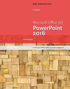 New Perspectives Microsoft Office 365 & PowerPoint 2016: Intermediate (Paperback)-cover