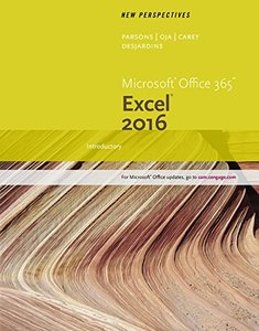 New Perspectives Microsoft Office 365 & Excel 2016: Introductory (Paperback)-cover