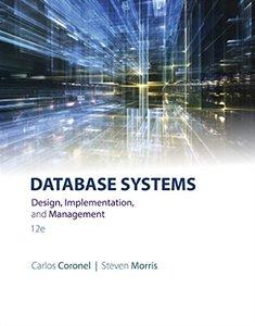 Database Systems: Design, Implementation & Management (Hardcover)-cover
