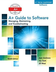 A+ Guide to Software (Hardcover)-cover
