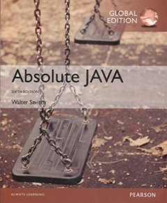 Absolute Java, 6/e (IE-Paperback)-cover