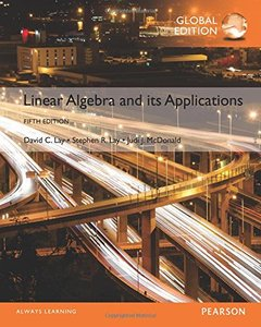 Linear Algebra and Its Applications, 5/e (IE-Paperback)-cover
