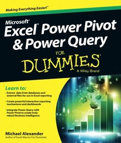 Excel Power Query and PowerPivot For Dummies(Paperback)-cover