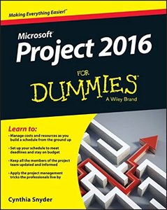 Project 2016 For Dummies (Paperback)-cover