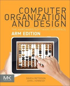 Computer Organization and Design ARM Edition: The Hardware Software Interface (美國原版)-cover